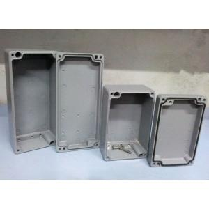 China China Custom Die Casting Aluminum Enclosures Waterproof Boxes Factory for Electronic Amplifier Housing on sale