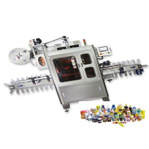 China Plastic Cup Shrink Sleeve Labeling Machine High Speed With Steam Generator on sale