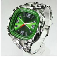 Multi Color Silicone Jelly Watch , Japan Movt Jelly Band Watches