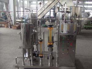 China Automatic small bottle Co2 gas beverage making machine mixer for cola carbonated soft drink price on sale