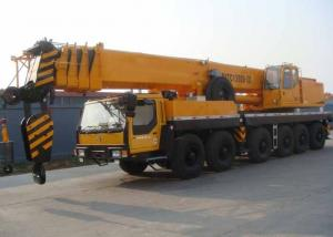 China Fully Extended Boom 47.8 Meter Hydraulic Truck Crane Heavy Construction Machinery on sale