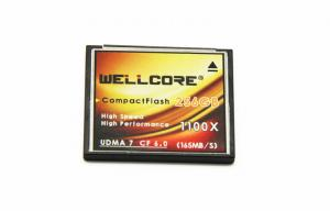 China 256GB Compactflash Memory Card , DVRs / Digital SLR Camera Memory Card on sale