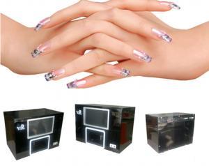China Colorful Digital Nail Art Machine Automatic 3D Finger Nail Printing Machine on sale