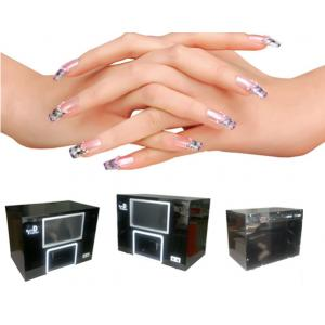 China Colorful Digital Nail Art Machine Automatic 3D Finger Nail Printing Machine on sale