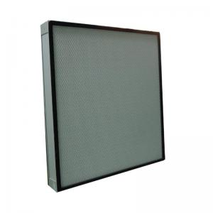 China Customized Industrial Mini pleat Hepa Filter , Air Conditioning Air Filter on sale