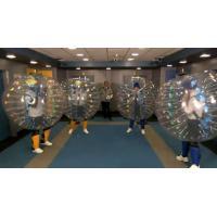 0.8mm Clear Pvc Bubble Football / Football Bubble Inflatable Bumper Ball 2014