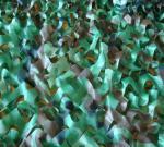 ПУ покрывает плетение Камо джунглей ткани 210Д Терылене Оксфорда, маскировочную сетку с 24 разделами Те
