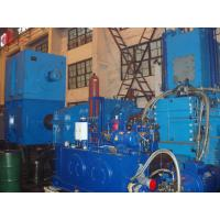 China Four-Wing 7500kg / h Alloy steel casting Banbury Internal Mixer Hermetic Type FM-410 on sale