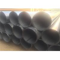 China API BS DIN Carbon Welded Line ERW Steel Pipe With Seam 1-12m Length on sale