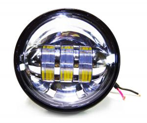 China 4.5 inch Harley Davidson motorcycle Fog lights , with 30w cree chip with 6000K Xenon White color light on sale