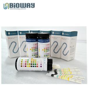 China CE certified Medical false urine test strip in canister, urinalysis strip, visual urine strips, strip, urine analyzer on sale