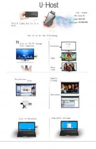 China Portable Cortex - A9 Renesas Dual Core CPU Android 2.3  media player with hdmi output on sale