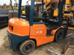 Used Toyota 3T Forklift FD30 with Original Paint