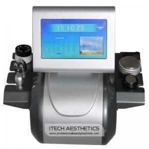 China Vacuum Ultrasonic RF Cavitation Machine With Multipolar Treatment Probes And Handles on sale