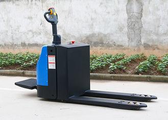 2 Ton Standing Type Electric Pallet Truck With Voltage Capacity 24V