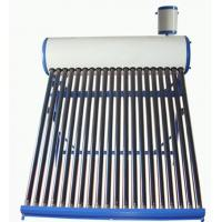Home 18 Tubes 150L Compact Pre-heating Low Pressure Solar Water Heater