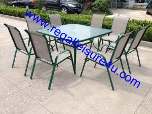 China 8 seater dining outdoor furniture RLF-188130411-1 on sale