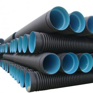 China High quality and cheap corrugated high-density polyethylene (hdpe) pipe on sale
