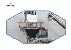 China Semi Auto Dry Fruit Powder Pouch Packing Machine / Honey Packing Machine GMP Certificate on sale