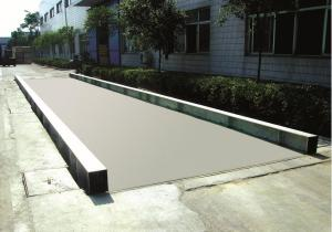 China 200T Electronic Car Truck Scale Weighbridge Pitless Weighted Bridges 3*24M on sale
