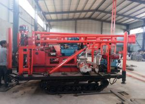China Four Wheel Basement Exploration Core Drill Rigs Drilling Rig For Geological on sale
