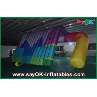 China Outdoor Advertising Air Inflatable Tent Printed Logo High Tear Strength on sale