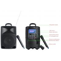 Professional Audio Portable PA Plastic Cabinet Speaker With Wireless Mic