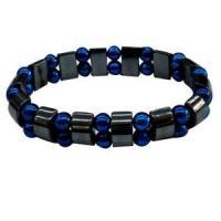 China magnetic hematite bracelet mix PMMA beads on sale