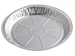 China Round Aluminium Foil Food Containers , Disposable Aluminium Foil Trays For Dish on sale