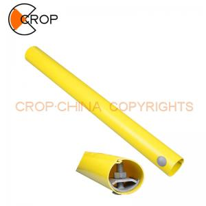 China Electric Power Fitting PVC PE Plastic Guy Markers / Warning Pipe for Warning Sign Pole on sale