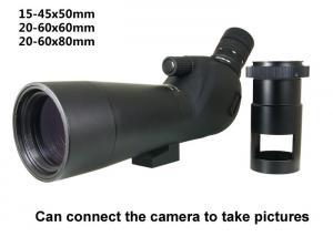 China Target shooting spotting scope 60x Camera telescope on sale