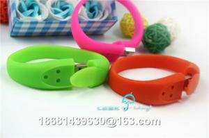 China promotion plastic wrist band usb flash drive on sale