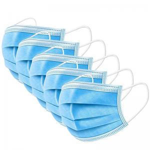 China Net Weight 25g Disposable Pollution Mask , Procedure Face Mask OEM / ODM Available on sale