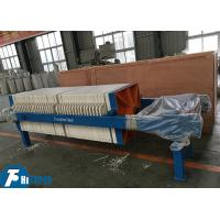 China Industrial Manual Filter Press 452L Filtration Chamber Volume 0.6Mpa Pressure on sale