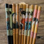 Popular World Bamboo Chopsticks Gift Chopsticks With Printing Logo