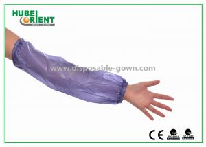 China PVC Oversleeves Disposable Arm Sleeves Water proof 18 Inches on sale