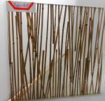 Paredes de separação moderadas mini bambu do vidro laminado para a casa, projeto original