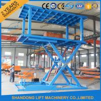 China 3T Double Deck Car Parking Lift for Villa Home Garage Double Basement Car Lift on sale