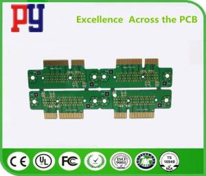 China Server Outer Line PCB Printed Circuit Board 4 Layer 1.6mm Immersion Gold Thickness on sale