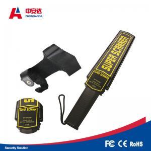 China Weapon / Gun Checking Handheld Body Scanner Lightweight ABS Adjustable Alarm Indication on sale