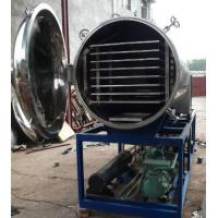 China 8 ㎡ Steel 316 Vacuum Freeze Dryer , Vacuum Drying Machine For Pharmaceutical Industry on sale