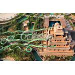 子供および大人は水公園のための水ジェット コースター/ガラス繊維水スライドを緑化します