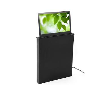 China High End Conference Office Luxury LCD Monitor Lift System 1080 P In Black Color on sale