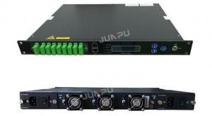 China 16dbm 16 Output EDFA Optical Amplifier 1550 Catv 1U Rack For Fiber Optical Network on sale