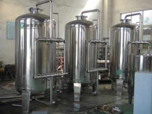 China 10.75kw RO Water Treatment Equipment Reverse Osmosis System on sale