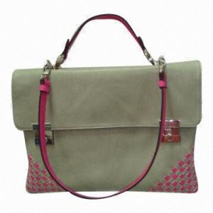 China Fashion Office Lady Crocheted Hand Bags For Meeting / Party on sale