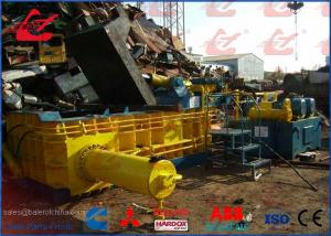 China Scrap Metal Baler HMS Hydraulic Baling Press Machine For Waste Car Bodies 5000kg/h Motor 60kW on sale