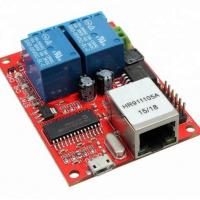 Red Color BGA Assembly Electronic Circuit Board FR4 Material Red Color