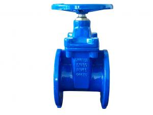 China (DIN) Cast Iron Resilient Gate Valve nor-rising stem on sale
