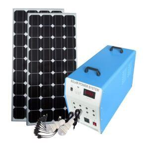 China Rechargeable Home Solar Generator With Safety , High Standard Solar Power System For Home on sale